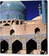 Shah Mosque At Isfahan In Iran Acrylic Print