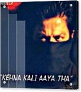 Shah Rukh Khan Acrylic Print