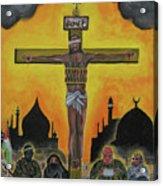 Shahid Or Martyr Acrylic Print by Darren Stein