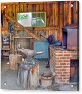 Shaker Blacksmith Barn Acrylic Print