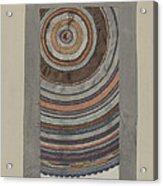 Shaker Circular Rug Acrylic Print