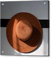 Shaker Hat Acrylic Print