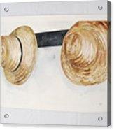 Shaker Mens' Hats Acrylic Print