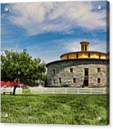 Shaker Pastoral Panorama Acrylic Print