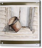 Shakertown Bucket Acrylic Print