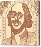 Shakespeare Acrylic Print