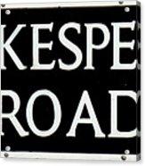Shakespeare Road Uk Acrylic Print