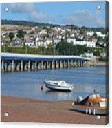 Shaldon Bridge Acrylic Print