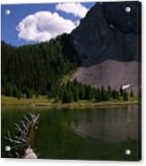 Shallow Mountain Lake Acrylic Print