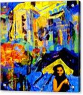 Shalom Manhattan  Acrylic Print