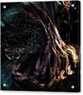 Shaman Dancing With Spirits Acrylic Print