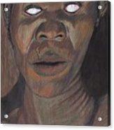 Shaman In A Trance Acrylic Print