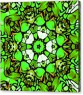 Shamrock Pattern Acrylic Print