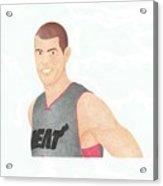 Shane Battier Acrylic Print