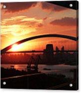 Shanghai City 12 Acrylic Print