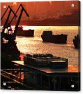 Shanghai City 14 Acrylic Print