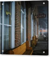 Shaniko Hotel And Cafe Acrylic Print