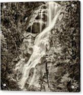 Shannon Falls - Bw Acrylic Print