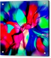 Shapes Our Lives Acrylic Print