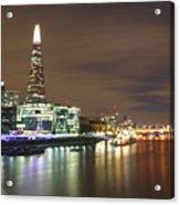 Shard From Tower Bridge London Acrylic Print