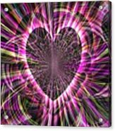Sharing Heart With Gladness Acrylic Print