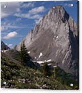 Shark Tooth Mountain Acrylic Print