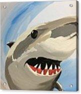 Sharky Grin Acrylic Print