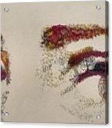 Sharon's Eyes Acrylic Print