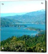 Shasta Lake Acrylic Print