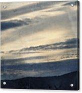 Shasta Trinity National Forest Sunrise Acrylic Print