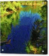 Shasta's Still Waters Acrylic Print