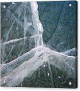 Shattered Ice Acrylic Print