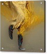 Pow Wow Shawl Dancer 9 Acrylic Print