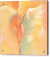 Shawl Lady Acrylic Print