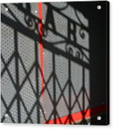 Shbar Acrylic Print