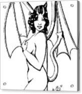 She Devil Acrylic Print
