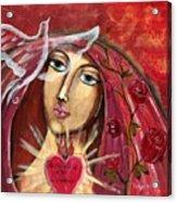 She Who Comforts Us Acrylic Print