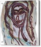 She Yes, Elle Oui, Acrylic Print