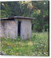 Shed The Old Acrylic Print