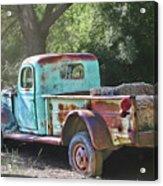 Sheepherders Truck Acrylic Print