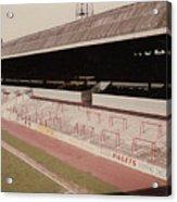 Sheffield United - Bramall Lane - John Street Stand 1 - 1970s Acrylic Print