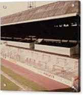 Sheffield United - Bramall Lane - John Street Stand 2 - 1970s Acrylic Print