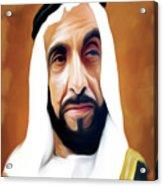 Sheikh Zayed Acrylic Print