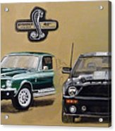 Shelby 40th Anniversary Acrylic Print
