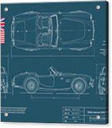 Shelby-american 289 Cobra Acrylic Print