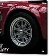 Shelby Cobra Sports Car Acrylic Print