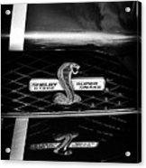 Shelby Gt 500 Super Snake Acrylic Print