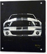 Shelby Mustang Front Acrylic Print