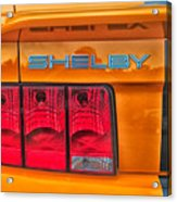 Shelby Tail Light Acrylic Print