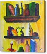 Shelf Acrylic Print